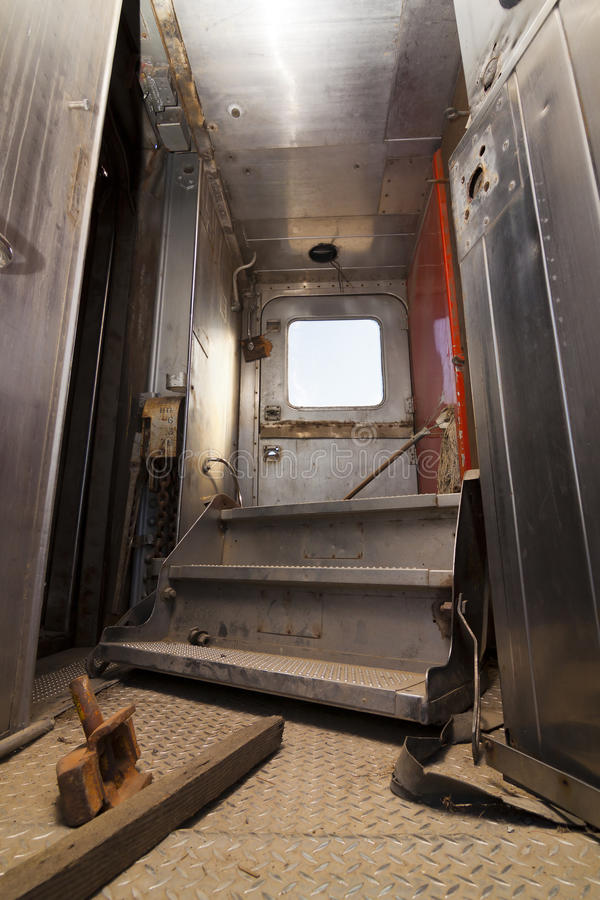 Serien-Verbinder-Tür stockfoto