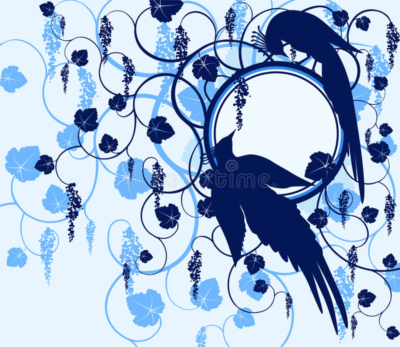 Series birds. Jay royalty free stock photos