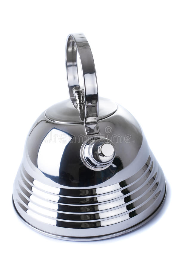 Series of images of kitchen ware. Teapot stock images