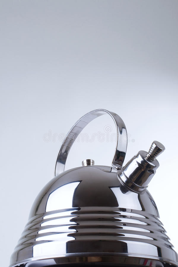 Series of images of kitchen ware. Teapot royalty free stock photo