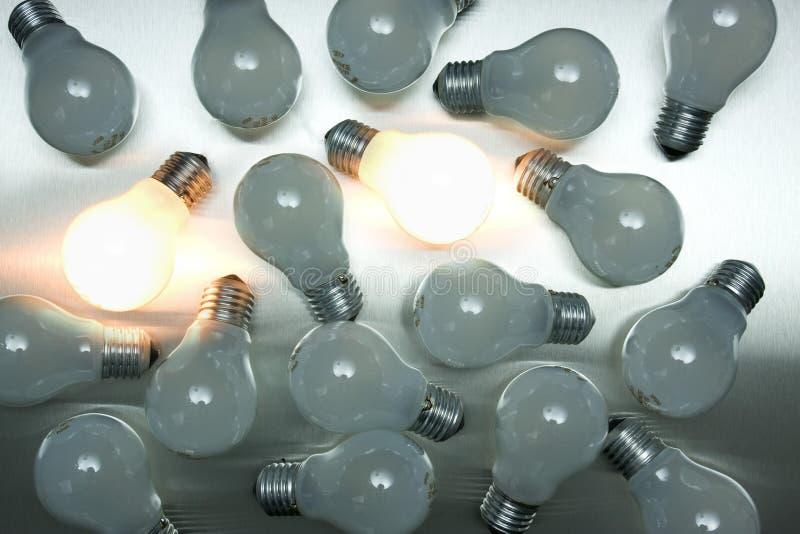 Download Series of lightbulbs stock image. Image of bulb, equipment - 5401293