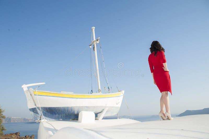 Series of Santorini Greece stock photos