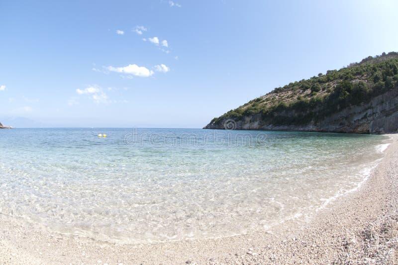 Series of stone sea beach royalty free stock image