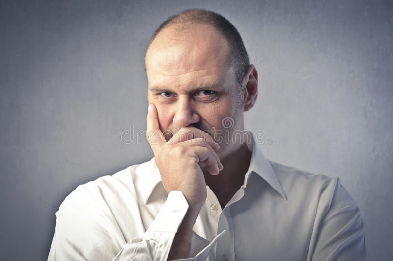 Download Seriety stock image. Image of visage, face, expression - 22378965
