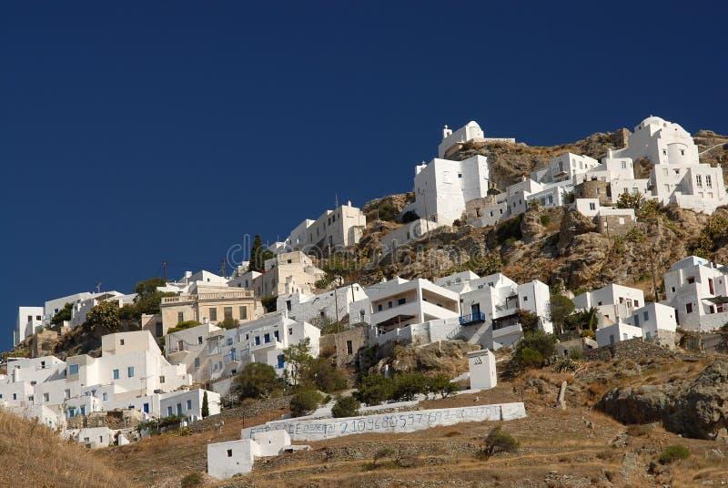 Serifos-Cyclades, Grécia imagens de stock