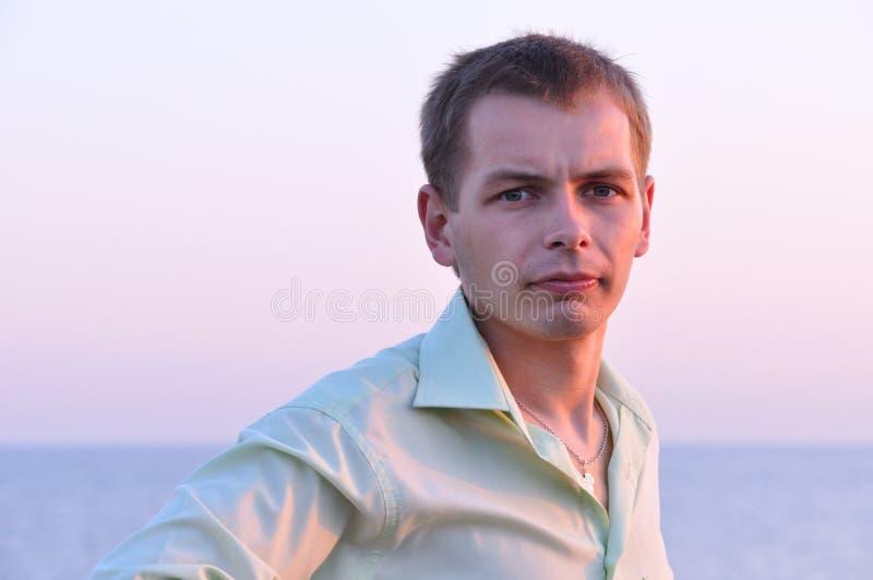 Serious Adult Man Stock Image