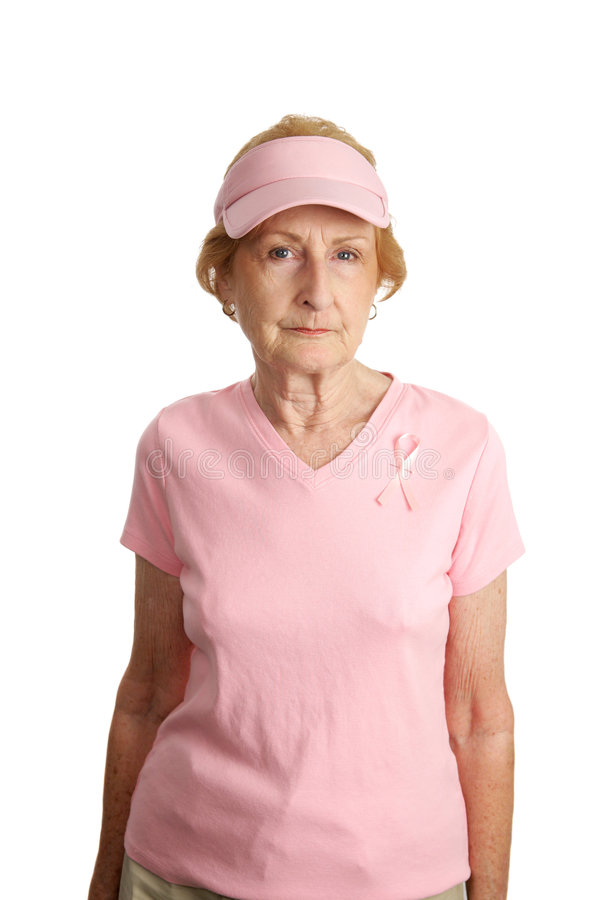 Serious About Breast Cancer stock photos