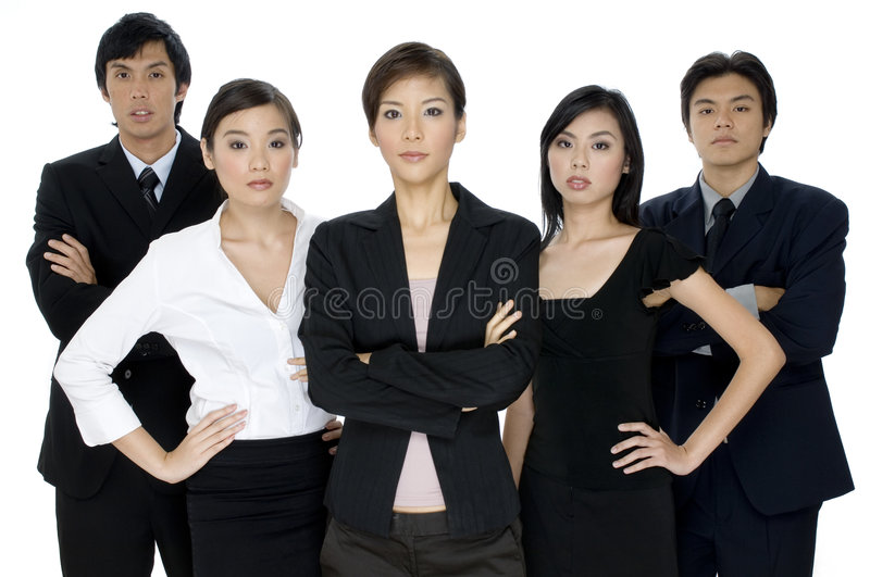 Download Serious Business Team stock photo. Image of people, colleagues - 1408692