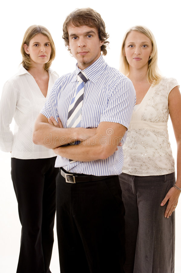 Serious Business Team Royalty Free Stock Photo