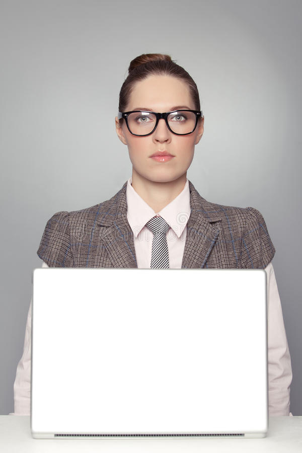 Free Serious Business Woman Royalty Free Stock Image - 18133326