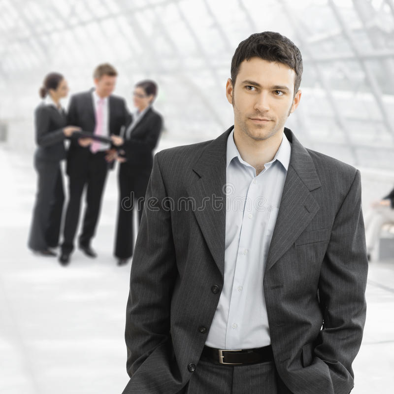 Download Serious businessman stock image. Image of confident, clothing - 10674183