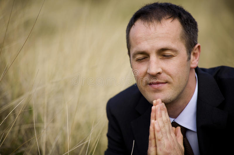 Download Serious businessman stock image. Image of contemplation - 19785055