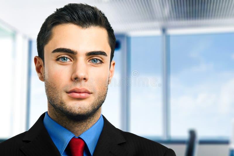 Serious Businessman Portrait Royalty Free Stock Photo