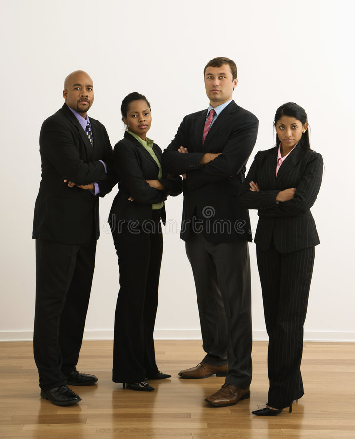 Serious businesspeople. royalty free stock photography