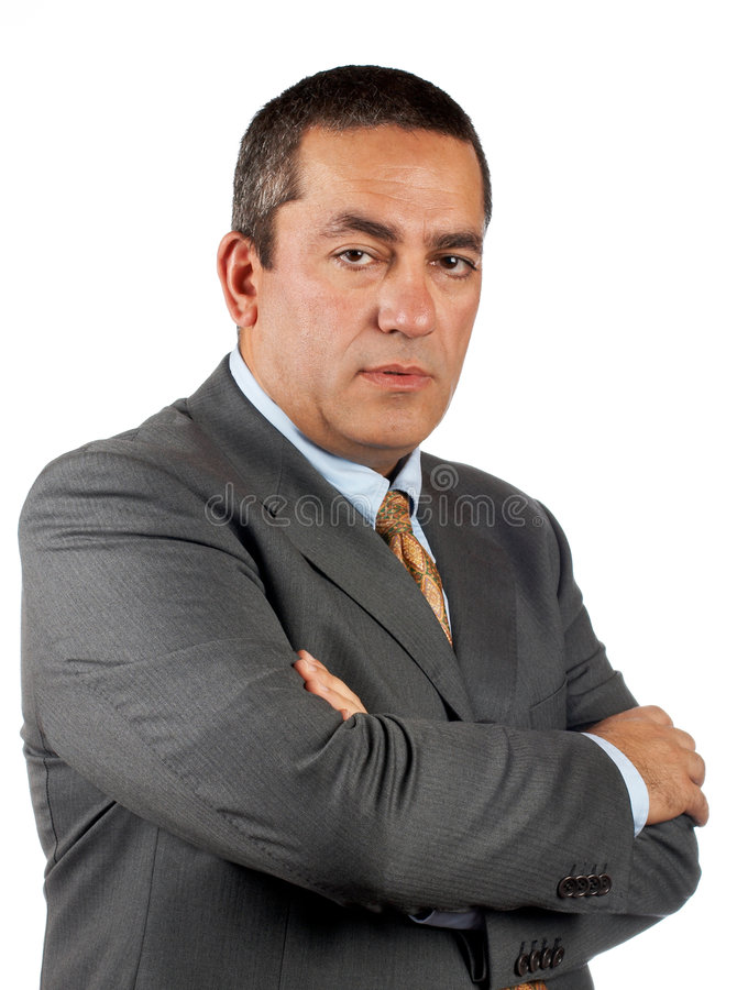 Download Serious CEO stock photo. Image of contract, confident - 1544592