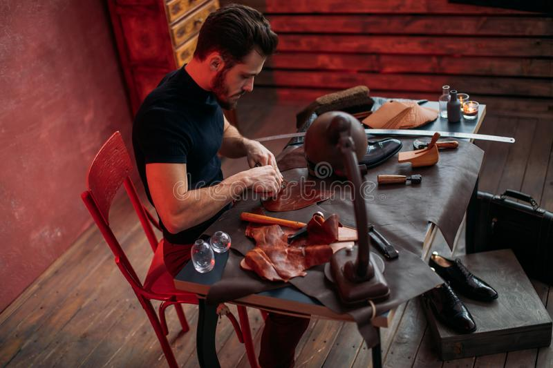Shoemaking Stock Images - Download 1,073 Royalty Free Photos
