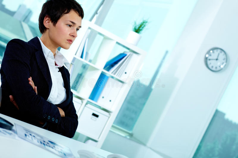 Download Serious employer stock photo. Image of director, collar - 23565972