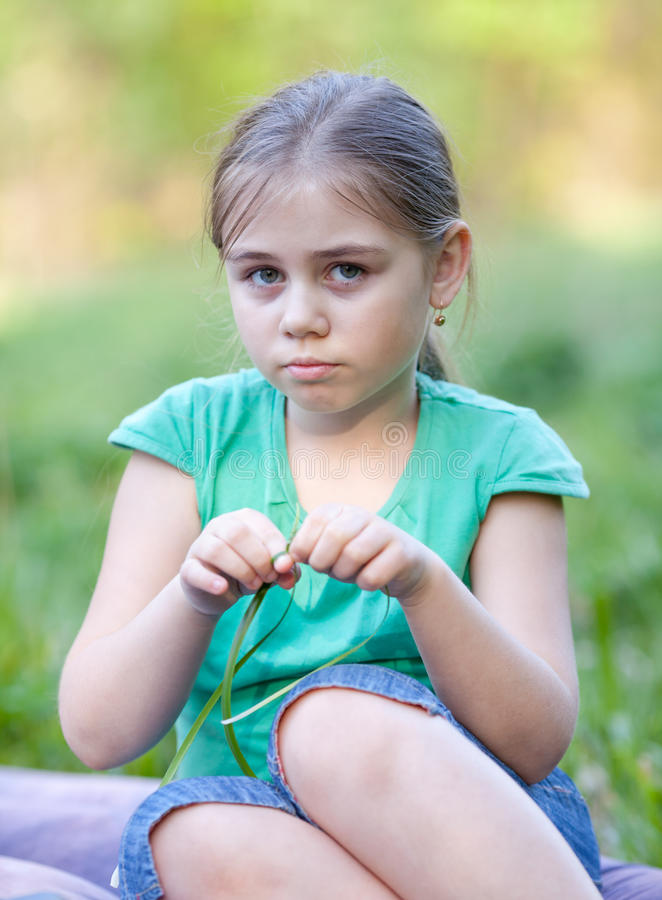 Download Serious Girl Stock Photography - Image: 25233512