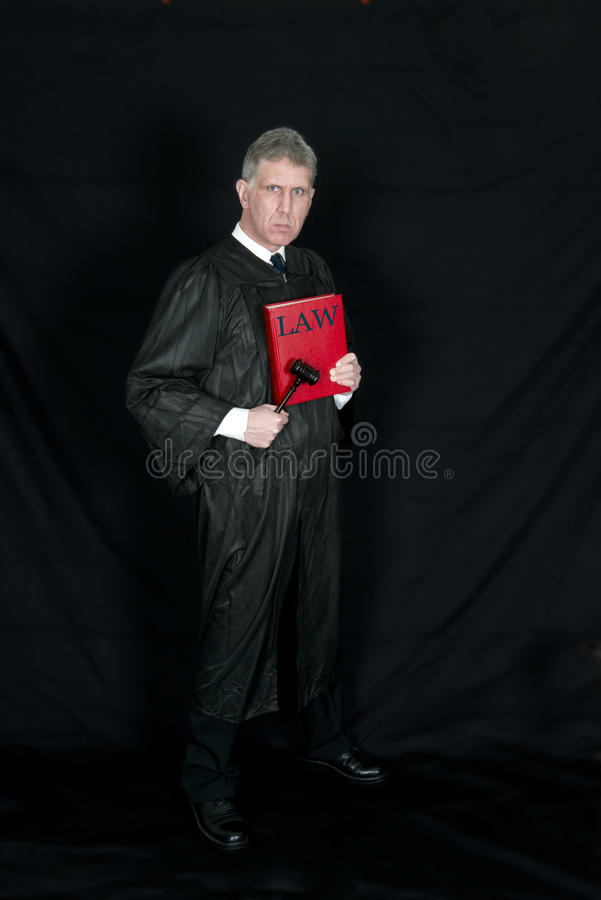 Serious Law Judge royalty free stock images