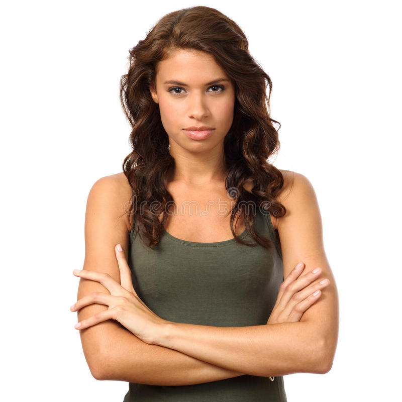 Download Serious loock stock photo. Image of ethnicity, natural - 21087134