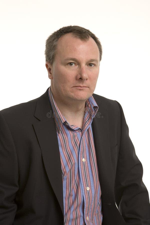 Serious Man Stock Image