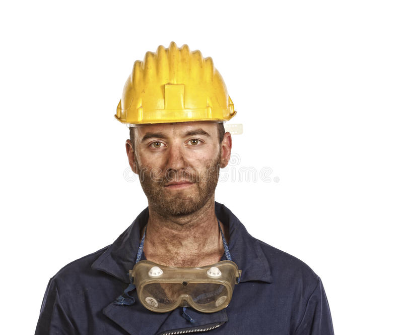 Download Serious manual worker stock photo. Image of male, industrial - 9905780