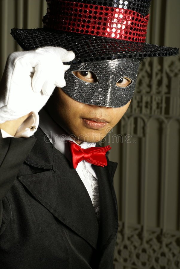 Download Serious masked man stock image. Image of composed, mask - 7551333