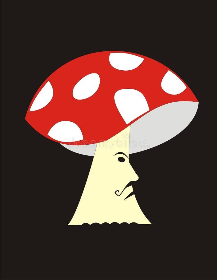 Serious Mushroom Royalty Free Stock Photo