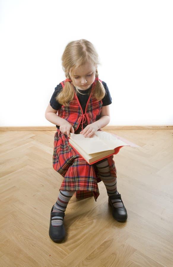 Download Serious  schoolgirl stock image. Image of white, school - 8805807