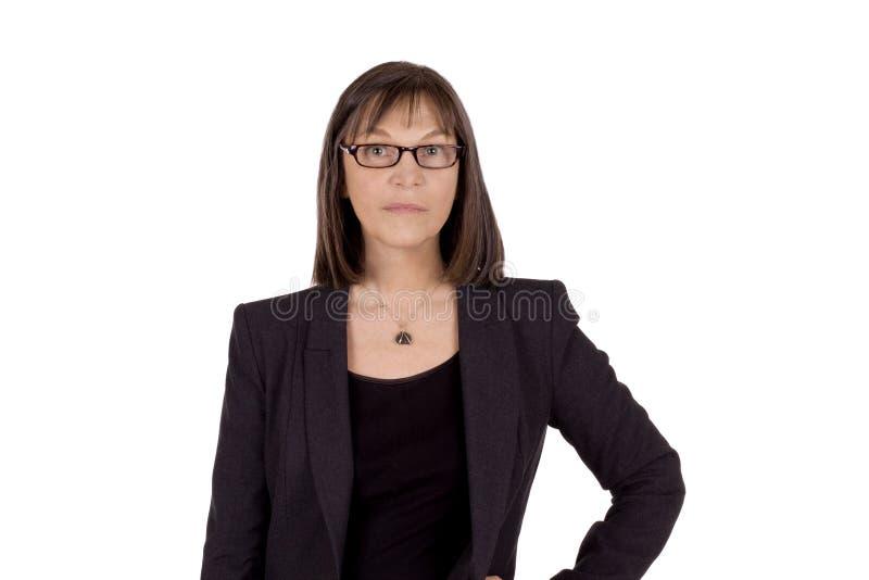 Download Serious Senior Business Woman Stock Image - Image: 14191655