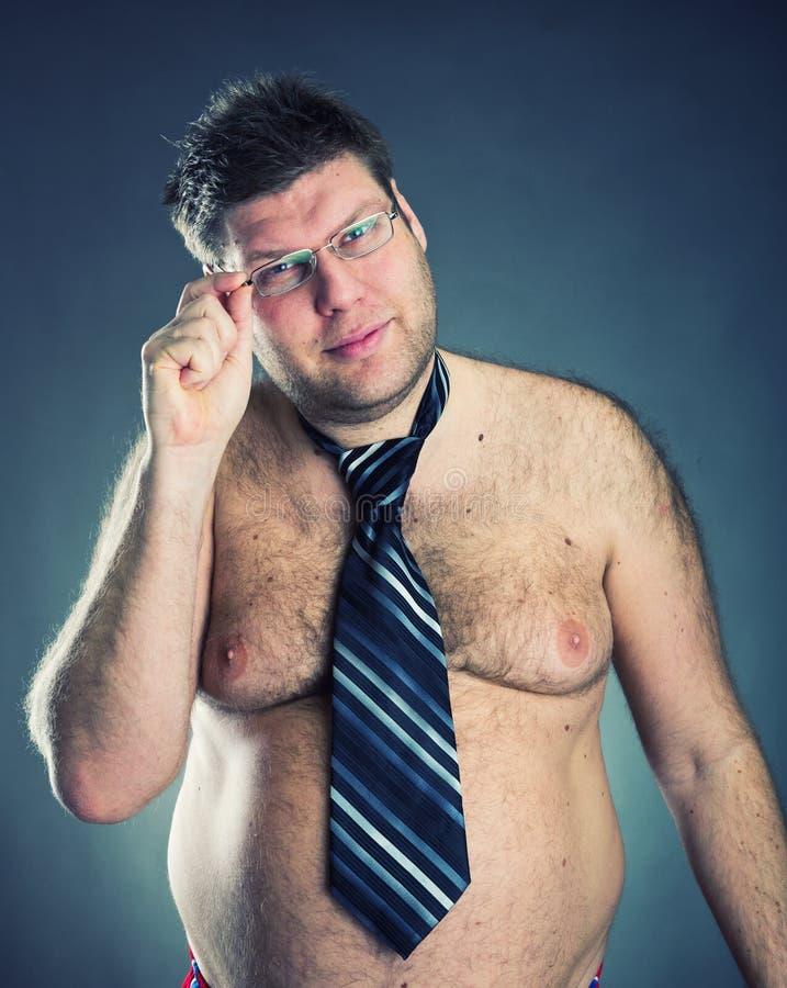 Serious shirtless man royalty free stock photos