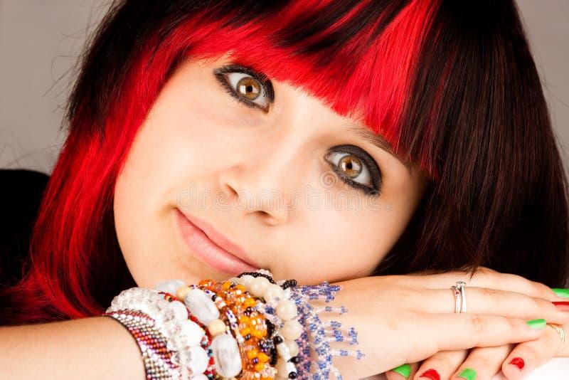 Download Serious teenage girl stock image. Image of caucasian - 10069579