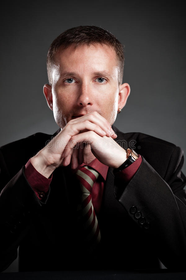 Download Seriously Businessman Portrait Stock Photo - Image: 14650478
