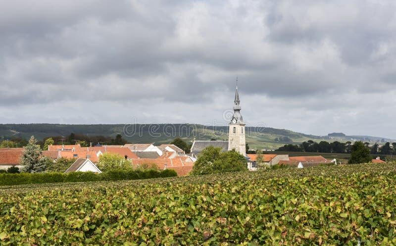 Sermiers em Champagne Region France imagem de stock