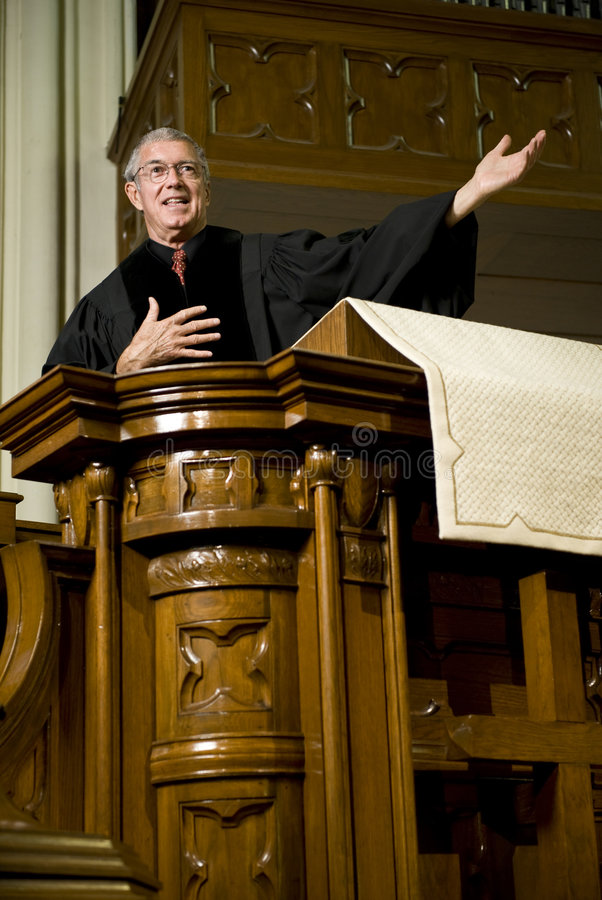 Sermon royalty free stock image