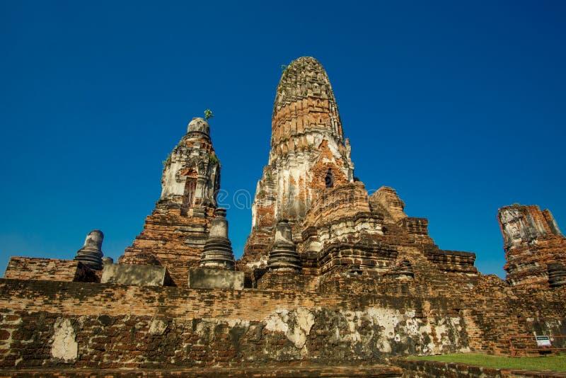 Sermon Hall Vihara a wat phra ram a ayutthaya, siti patrimonio mondiale della Thailandia immagine stock