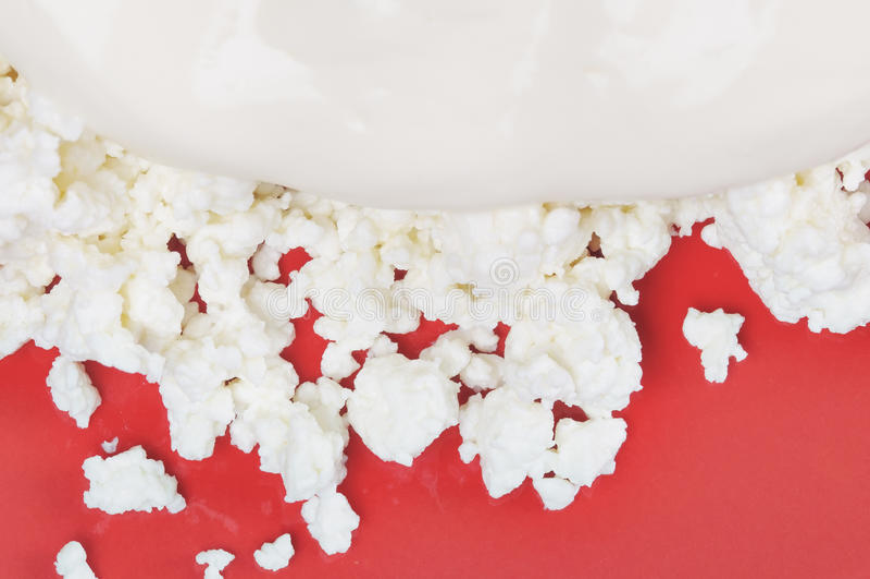 serowa chałupa zdjęcie stock