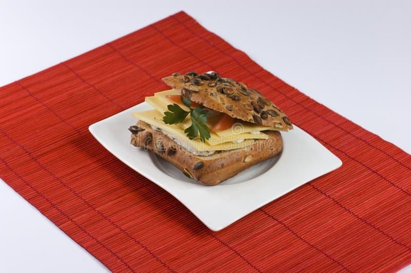 serowa kanapka zdjęcie stock