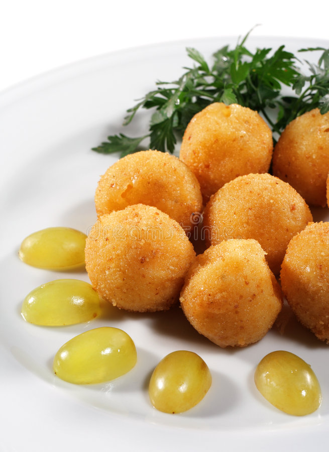 serowi croquettes obrazy royalty free