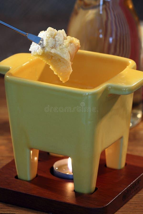 serowy fondue obraz royalty free
