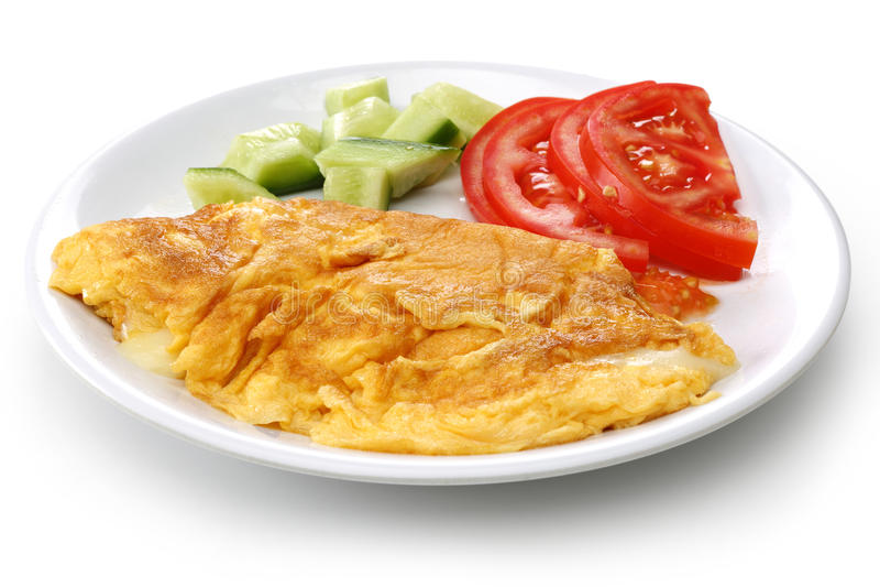 Serowy omlet zdjęcia stock