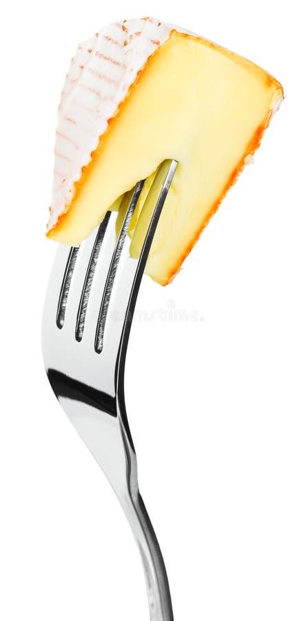 serowy rozwidlenie zdjęcia stock