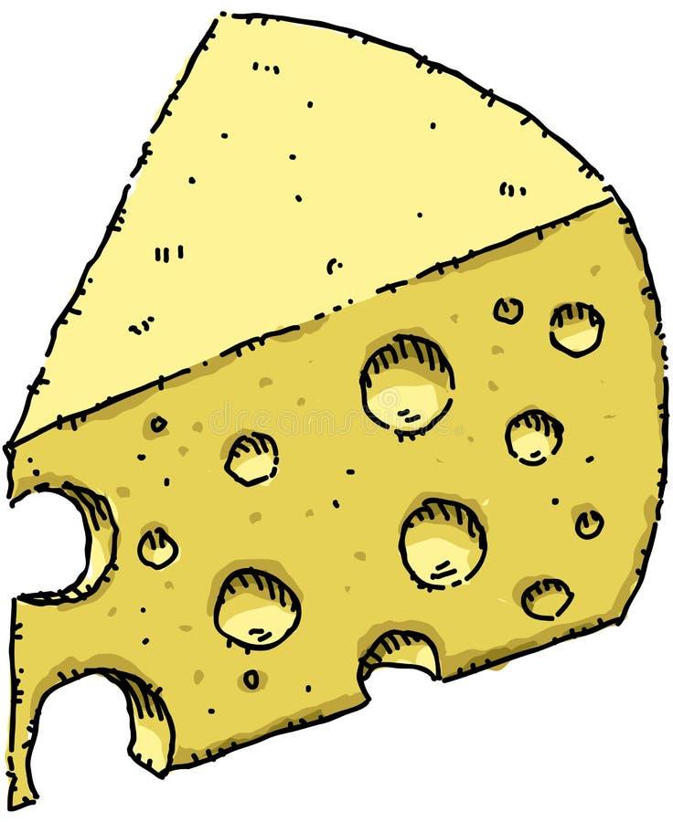 serowy szwajcar ilustracja wektor