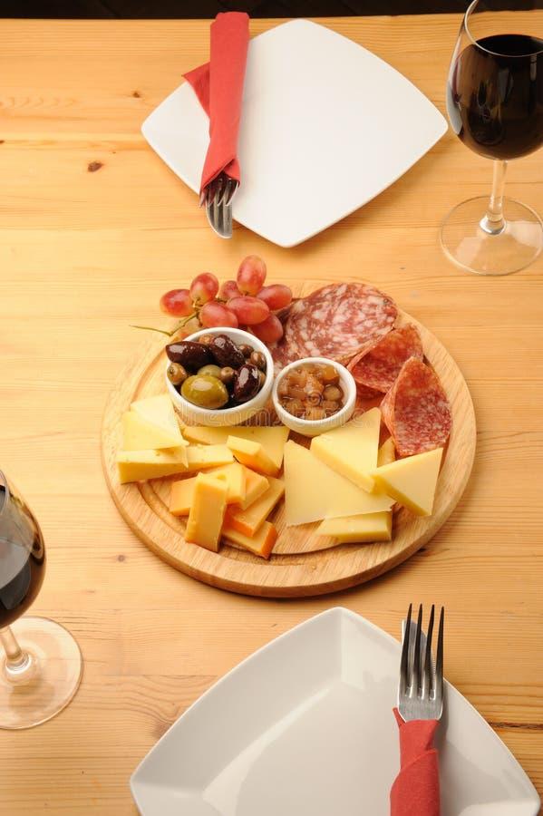 serowy wino obrazy royalty free