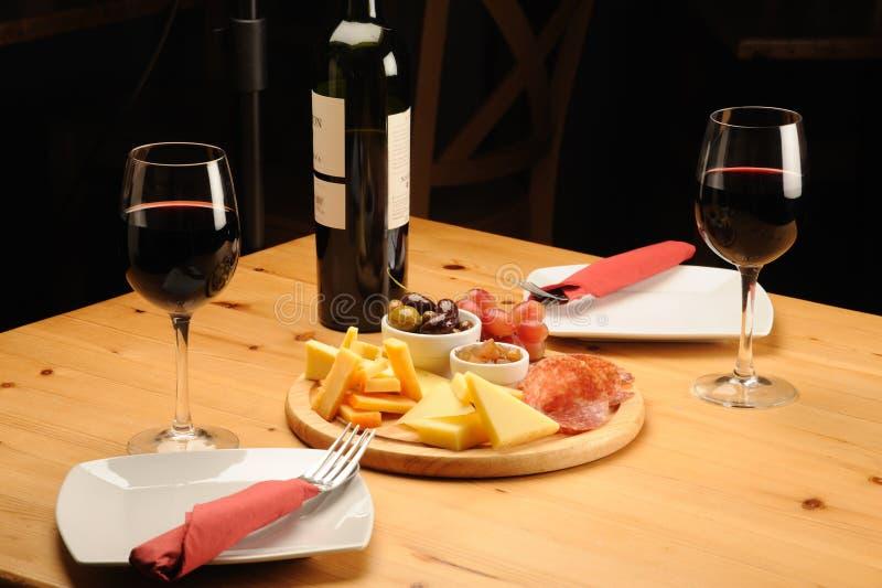 serowy wino zdjęcia stock