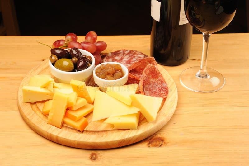 serowy wino obraz royalty free