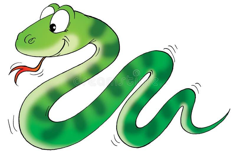 Serpent illustration stock