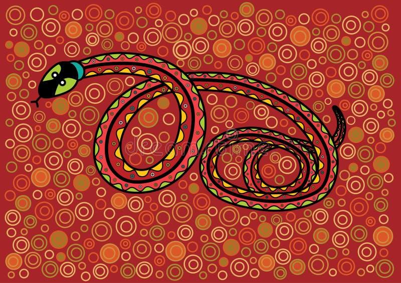 Serpent royalty-vrije illustratie