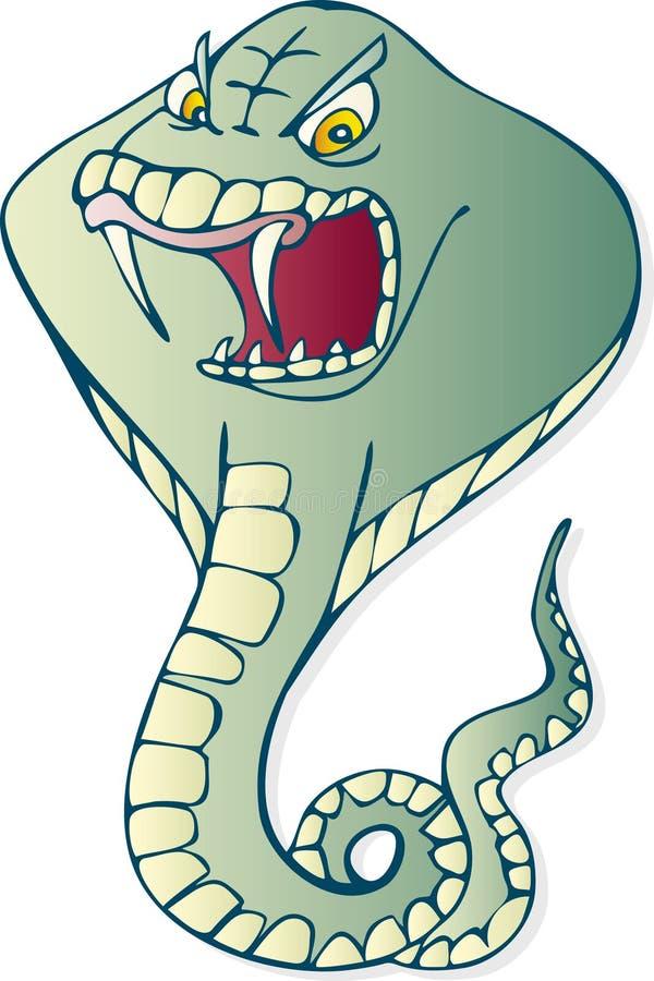 Serpent de cobra illustration libre de droits