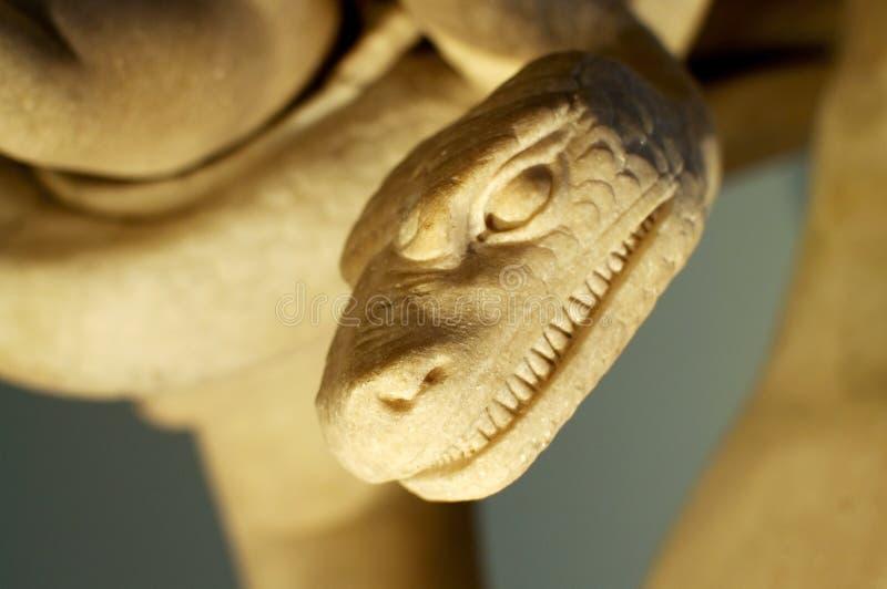 Serpent mauvais photo stock